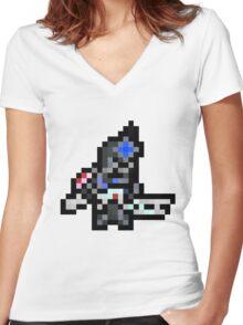 Pixel Legion Women's Fitted V-Neck T-Shirt