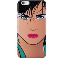 Pop Art Illustration of Beautiful Woman Veronica iPhone Case/Skin