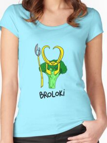 Broloki Women's Fitted Scoop T-Shirt
