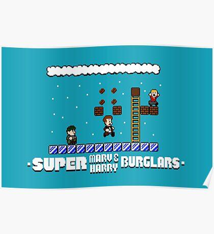 Super Marv & Harry Burglars Poster