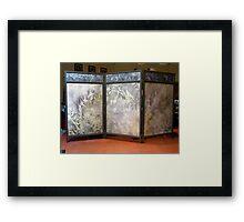 finished landscape screen Framed Print