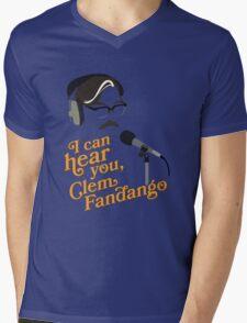 "Toast of London - ""I can hear you, Clem Fandango"" Mens V-Neck T-Shirt"