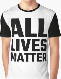 All Lives Matter Graphic T-Shirt