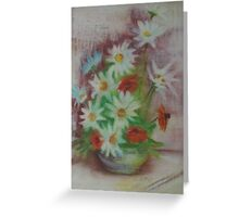 ARRANGEMENT of FLOWERS Greeting Card
