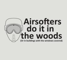 Airsofters do it in the woods! by Bmused55