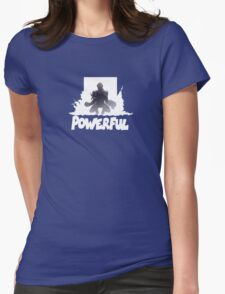 Powerful Womens Fitted T-Shirt