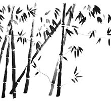bamboo forest by pechane
