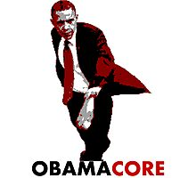 Obamacore Photographic Print