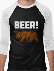 Beer! Men's Baseball ¾ T-Shirt