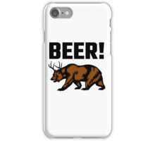 Beer! iPhone Case/Skin