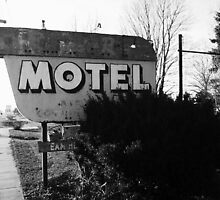 Motel by sketchingbrad