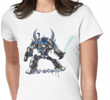 R2-D2 Transformed Womens Fitted T-Shirt