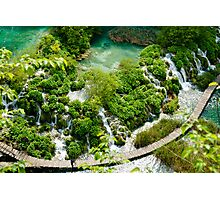 Plitvice Lakes National Reserve, Croatia. Photographic Print