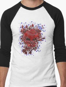 skull splat Men's Baseball ¾ T-Shirt