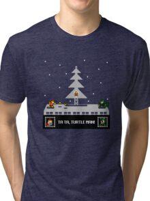 Turbo Man II (Christmas 2015 variant) Tri-blend T-Shirt
