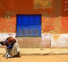 Elderly woman, Peru by stevefinn77