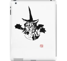 falling cat iPad Case/Skin