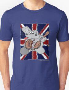 Hippo Union Jack Thrash Unisex T-Shirt