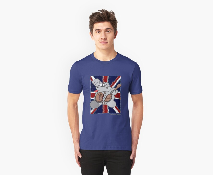 Hippo Union Jack Thrash by Chicot