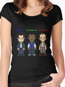 GTA 5 Characters Women's Fitted Scoop T-Shirt