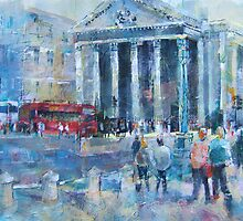 London Art by Ballet Dance-Artist