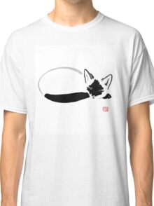 siamese sleeping Classic T-Shirt