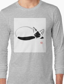 siamese sleeping Long Sleeve T-Shirt