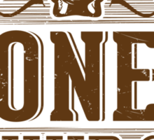 Jones Whip Company Sticker
