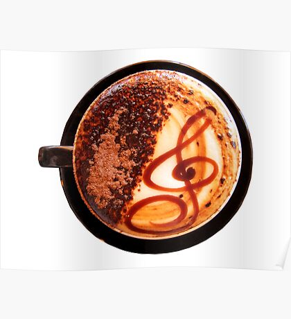 Vanilla Latte Poster