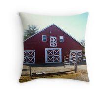 The Runyon Barn Throw Pillow