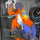 Street Art 1 (The Musician) by stevefinn77