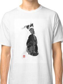 watching cat Classic T-Shirt