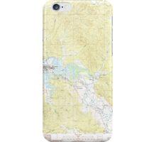 USGS Topo Map Washington State WA Raymond 243385 1986 24000 iPhone Case/Skin