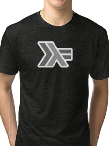 haskell (round outline) Tri-blend T-Shirt