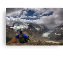 Glacial View! Canvas Print