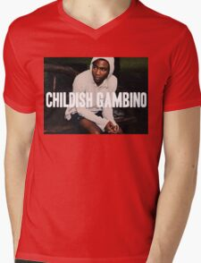 Childish Gambino Mens V-Neck T-Shirt