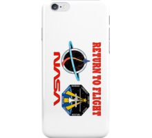 Return to Flight of the Space Shuttle! iPhone Case/Skin