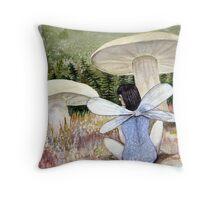 Dreaming Fairy Throw Pillow