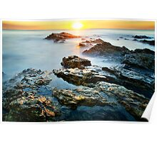 Horizontal Sunset Poster