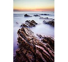 Tilt Rock Vertical Photographic Print