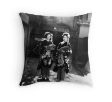 The Black and White Album - #19 Throw Pillow
