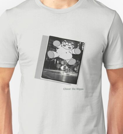 Chicot the Hippo Live On Stage Unisex T-Shirt