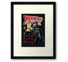 Bat To The Future Framed Print