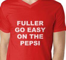 Fuller Go Easy on the Pepsi Mens V-Neck T-Shirt