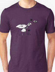 macro girl, bee & dandelion Unisex T-Shirt