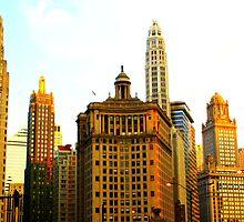 Chicago Glow by Yajhayra Maria