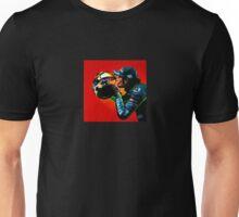 Valentino Rossi portrait painting Unisex T-Shirt