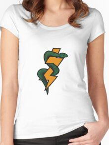 The Snake and the Bolt Women's Fitted Scoop T-Shirt