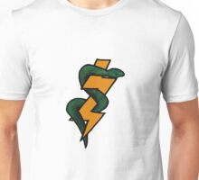 The Snake and the Bolt Unisex T-Shirt