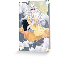 Starlight Serenity Greeting Card